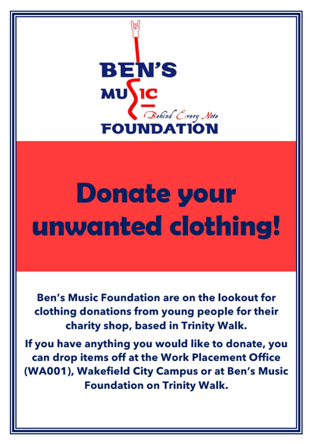 bens music foundation